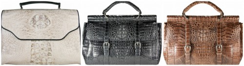 Exotic Skin Women Handbags